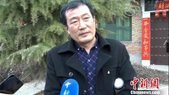 Wang Qi's nephew Wang Zhanjun.