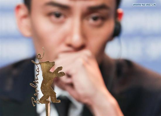 Actor Chang Chen attends a press conference of film