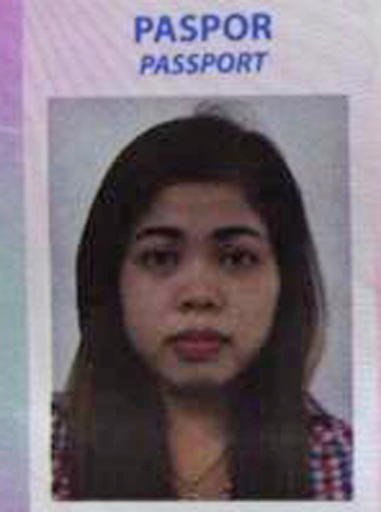 This photo from Indonesian news portal Kumparan obtained on Thursday, Feb. 16, 2017 shows the portrait on the passport of Siti Aisyah, 25, an Indonesian woman suspected to be involved in the killing of the North Korean leader\'s half brother at Kuala Lumpur Airport on Monday, Feb. 13. Indonesian diplomats in Malaysia have met with the woman and confirmed she is an Indonesian citizen, officials said Thursday. (Kumparan via AP)