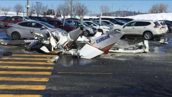 One Chinese national died and one was injured when two small Cessna 152 planes clashed above the Saint-Bruno in Montreal, Canada.