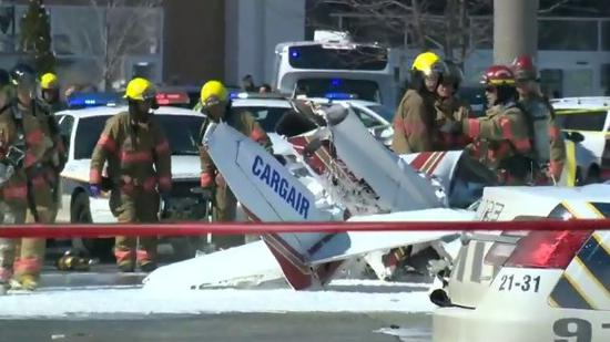 Both Chinese nationals were student pilots sent by Chinese aviation school to study in Canada. Both were male. The 21-year-old man was dead and the 23-year-old was critically injured, but was not in life danger. Another two men were also injured in the incident and were sent to hospital, according to local police.
