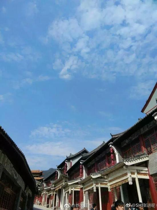 """A university in Nanchang city, capital of Jiangxi province was found resembling the Forbidden City. Authorities of the school said they'd like to build the campus buildings in ancient styles so as to display traditional Chinese culture as well as offer a place of inspiration for art students. Net users joked that """"Would it be like going to court for courses every day? The students can even film a historic TV drama during spare time."""""""