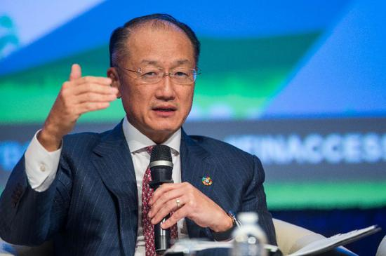 World Bank President Jim Yong Kim, pictured in October 2016, will visit Rwanda and Tanzania in a show of support for the entire region (AFP Photo/ZACH GIBSON)