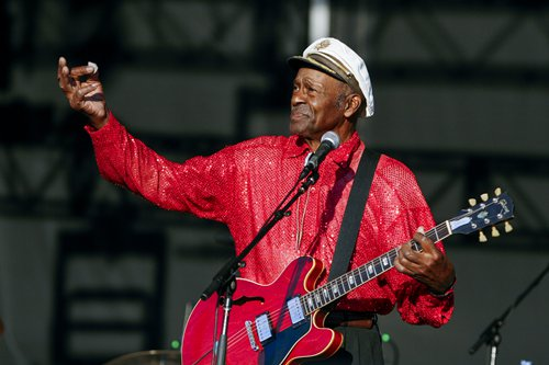 Chuck Berry Photo: AFP