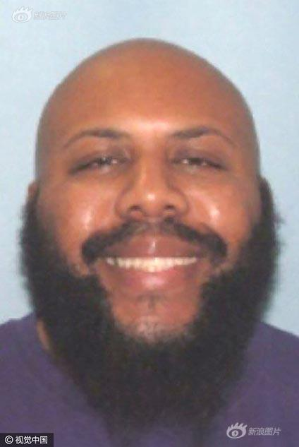 Steve Stephens, who Cleveland Division of Police said was being sought in connection with the killing of an individual, is seen in an undated handout photo released April 16, 2017