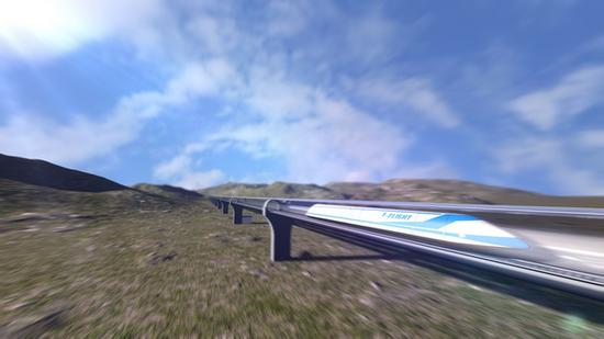 HyperFlight speeds will be ten times that of traditional high-speed trains, and five times that of the passenger airplanes