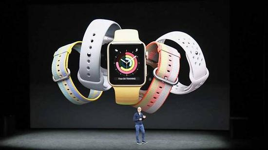 The Apple Watch Series 3 offers several improvements including cellular connectivity and applications to help detect health problems such as heart arrythmia.