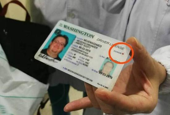 According to his family, Scott agreed to donate his organs while applying for a driving license in the United States.