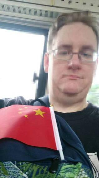 "On Oct. 1, China's National Day, Scott wrote at his WeChat moments, ""My greatest hope today is that the country I come from and the country that is my current home together continue to grow in peace and prosperity. Happy National Day!"""