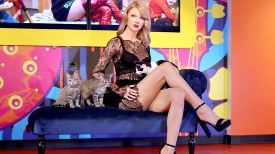 Taylor Swift's wax figure at Madame Tussauds San Francisco Madame Tussauds San Francisco
