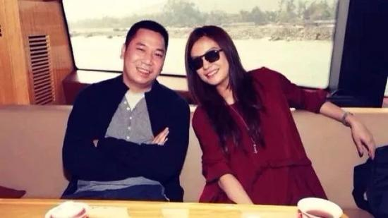 Zhao Wei and  her husband Huang Youlong
