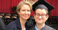 Sex and the City star Cynthia Nixon posts touching tribute to her transgender son