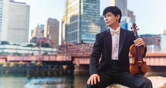 中国小提琴家张翔获纽约市著名职业奖