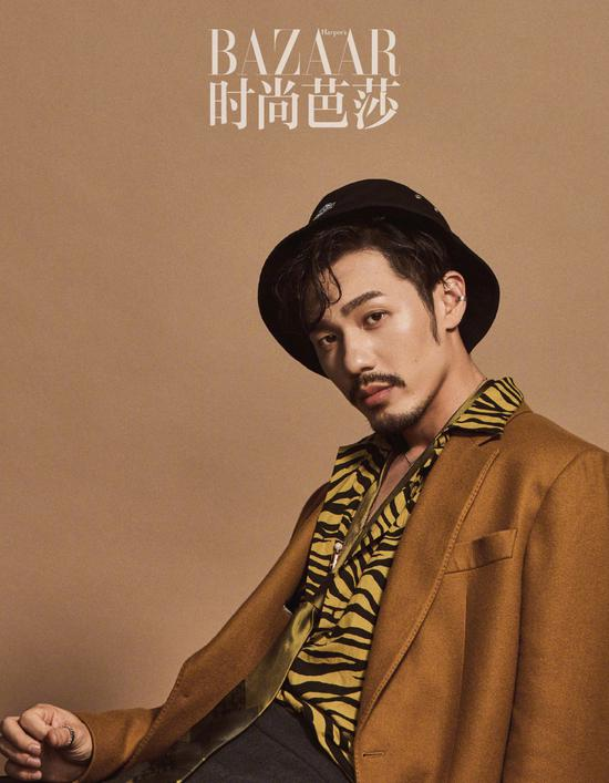 Actor Bai Yu poses for the fashion magazine. [Photo/Official Weibo account of Our Street Style]