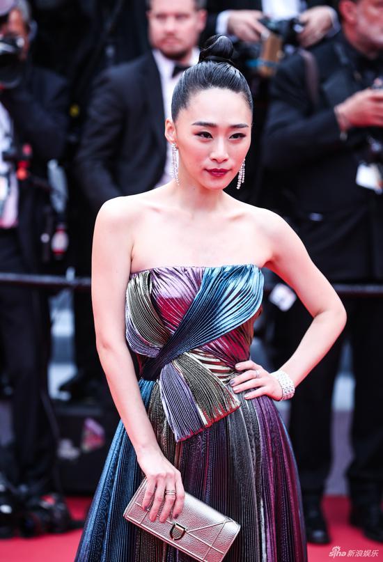 中国明星在第72届戛纳电影节红地毯上闪耀 9