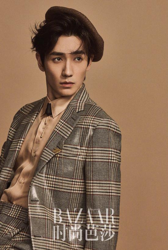 Actor Zhu Yilong poses for the fashion magazine. [Photo/Official Weibo account of Our Street Style]