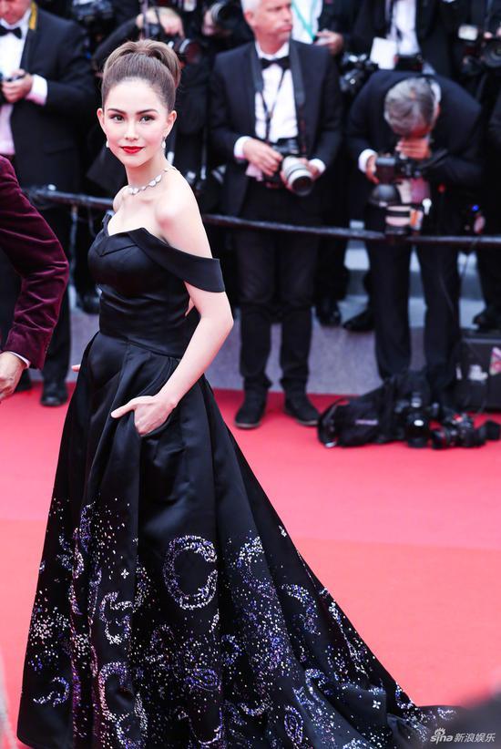 中国明星在第72届戛纳电影节红地毯上闪耀 8