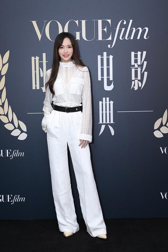 5be4df8ea310eff36905720cChinese actress Tang Yan arrives on the red carpet for the Vogue Film fashion event 2018 in Beijing, China, Nov 7, 2018. [Photo/IC]