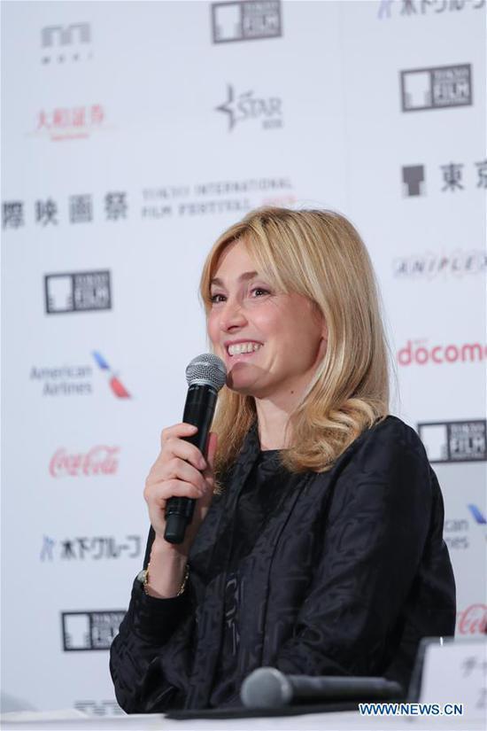 评委出席第32届东京国际电影节新闻发布会 7