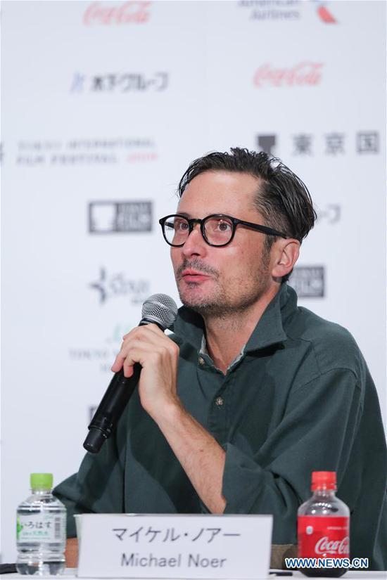 评委出席第32届东京国际电影节新闻发布会 5