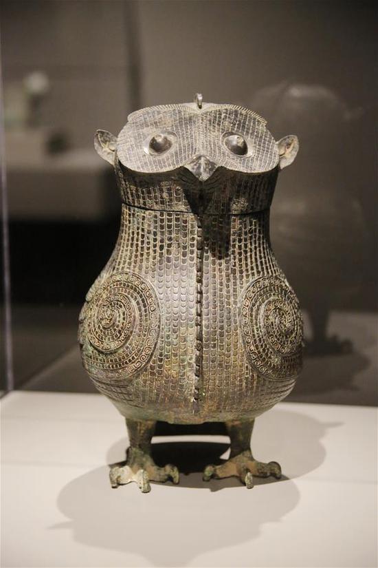 中国青铜艺术展在休斯顿举行 1