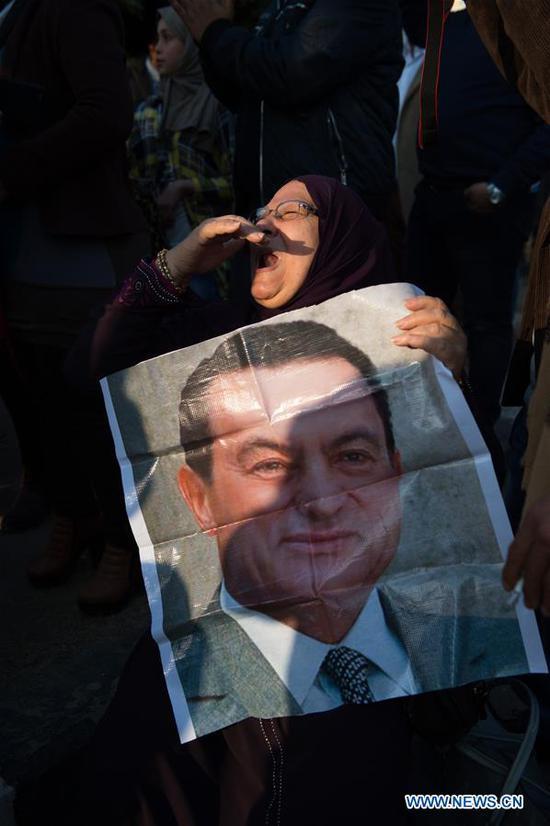 埃及前总统穆巴拉克逝世91岁,总统哀悼