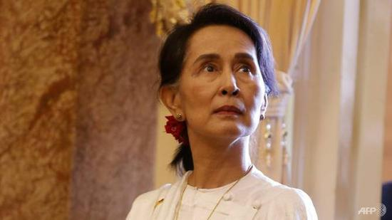 Suu Kyi has been under fire for the crisis