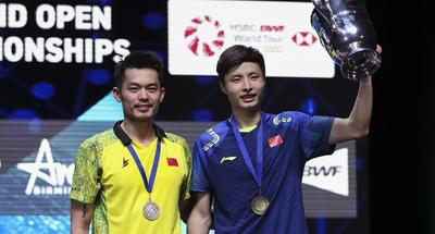 China's Shi beats Super Dan to become new All England Open champion