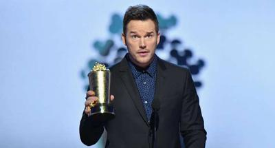 Chris Pratt gives his best life advice as he receives MTV's Generation Award