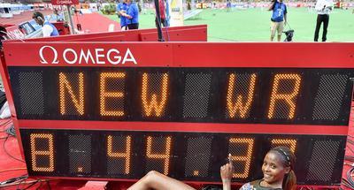 Chepkoech smashes women's steeplechase world record in Monaco