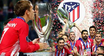 Atletico Madrid beat Real Madrid 4-2 to win UEFA Super Cup