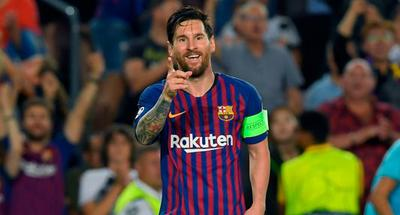 Lionel Messi hat-trick helps Barcelona thrash PSV Eindhoven in Champions League