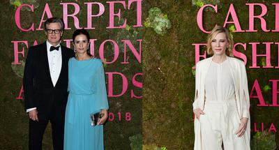 Celebrities gather on Milan's 'Green Carpet' to promote sustainability