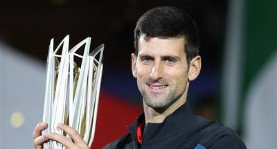 Djokovoic storms to fourth Shanghai Masters title