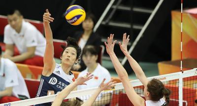 China edge Netherlands at women's volleyball worlds