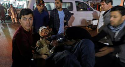 Suicide bombing in Afghan hotel kills 43, wounds 83, Taliban denies involvement