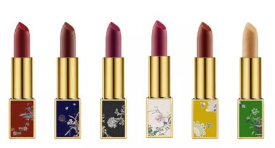 New items for your wish list: Limited edition of lipstick collection by the Palace Museum