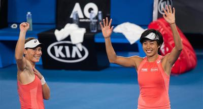 China's Zhang Shuai into the Australian Open women's doubles final