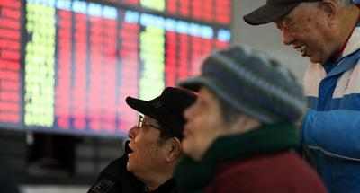 Chinese shares surge more than 5 pct Monday