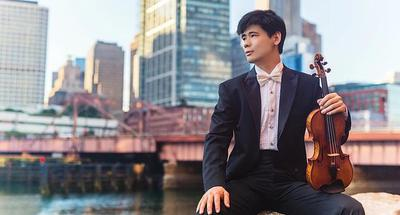 Chinese violinist Angelo Xiang Yu awarded New York prestigious career award