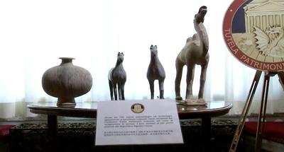 Italy brings 796 cultural relics home to China