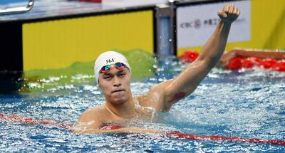 Olympic champion Sun clinches 1st gold at National Swimming Championships