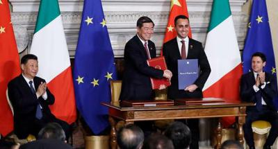 Italy joins BRI with landmark document inked