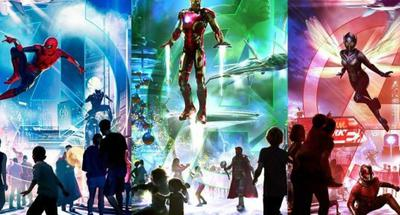 HK Disneyland to launch new Marvel-themed attraction