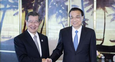 Premier meets delegation from Taiwan-based Cross-Straits Common Market Foundation