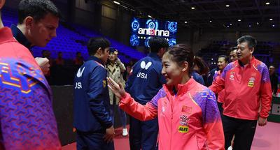 Chinese delegation eyes titles in World Table Tennis Championships