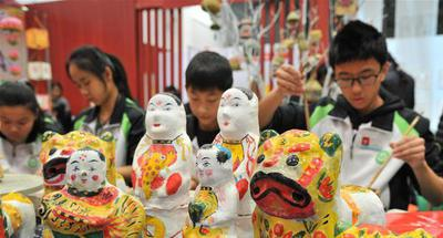 4th China (Weifang) folk art fair kicks off in Shandong