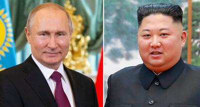 DPRK's Kim in Russia for talks with Putin