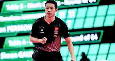 China's Xu falls at singles and survives mixed doubles