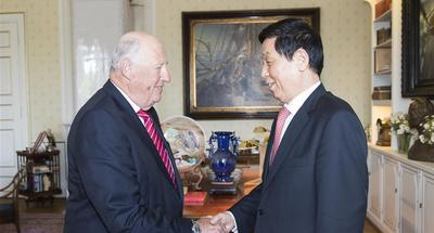 China's top legislator visits Norway to promote bilateral ties